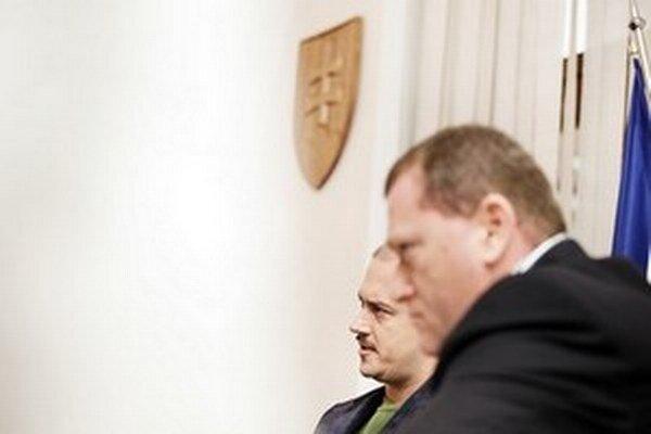 Marian Kotleba a Miroslav Belička.