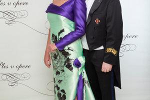 Danica Kleinová s partnerom Alexandrom Nejedlým