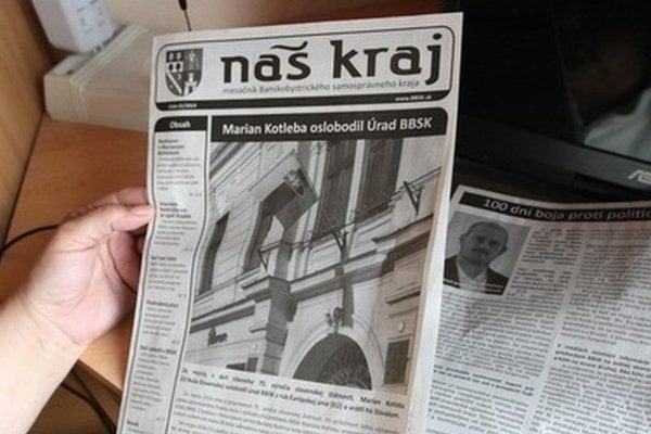 Predošlé noviny Náš kraj.