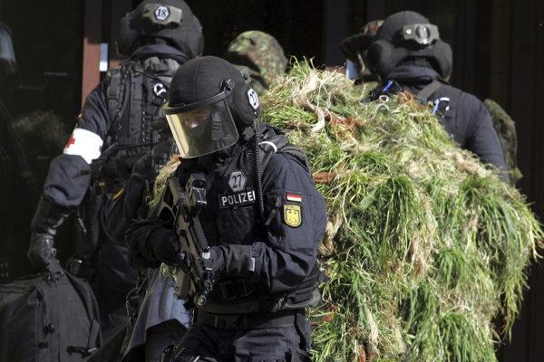 Nemecká protiteroristická jednotka.