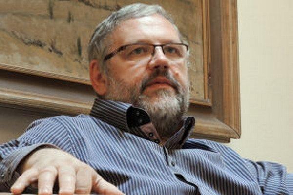 Stanislav Mičev, riaditeľ Múzea SNP v Banskej Bystrici.