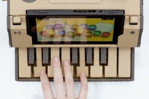 Zložte a zahrajte si na piáne s Nintendo Labo.