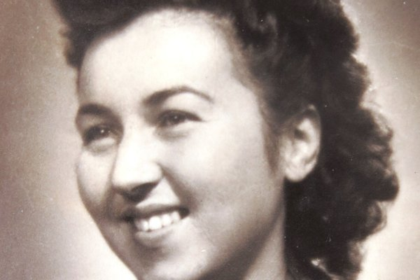 Ruth Mittelmannová (Charlotta Neumannová) Bratislava, 1949