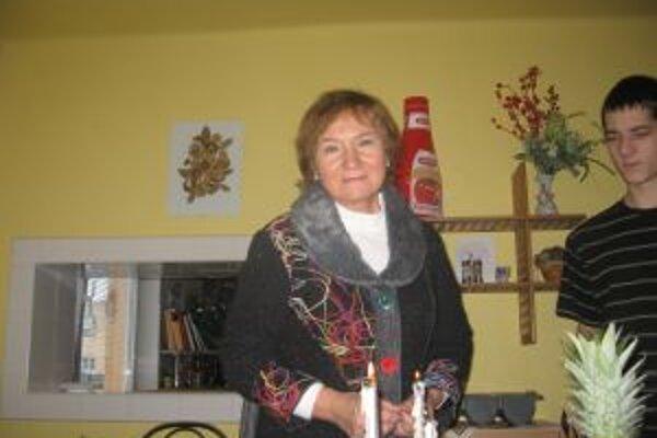 Vianočnú atmosféru si Vilma Babicová najradšej vychutnáva doma na Slovensku