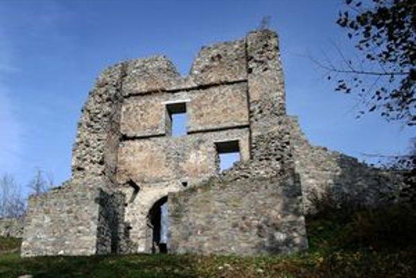 Pustý hrad vo Zvolene.
