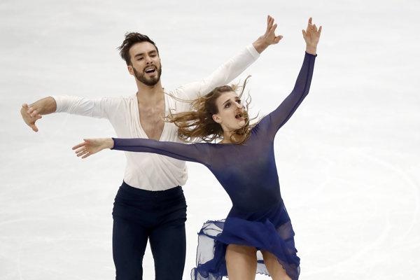 Gabriella Papadakisová a Guillaume Cizeron.