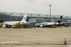 Letisko Milana Rastislava Štefánika v Bratislave.