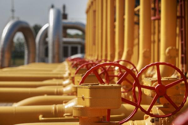 Ukrajina zvyšuje dovoz plynu cez Slovensko