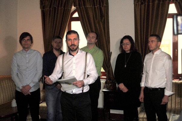 V Bardejove predstavili prvého kandidáta na primátora a poslancov. (zdroj MH)