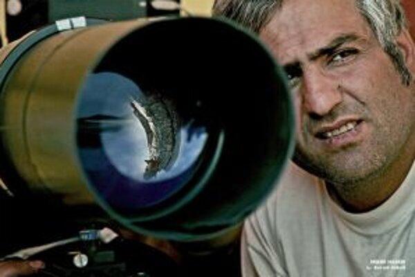 Iránsky režisér Mehdi Naderi