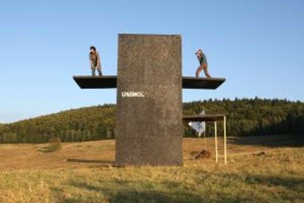 Zaujímavý umelecký projekt našiel miesto v krajine