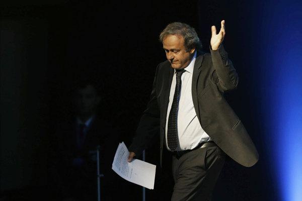 Michel Platini - ilustračná fotografia.