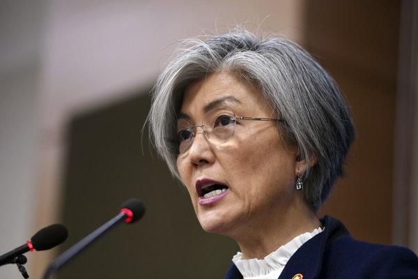 Juhokórejská ministerka zahraničných vecí Kang Kjong-wha.