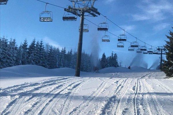 Lyžiarske stredisko Strachan Ski Centrum v Ždiari v Belianskych Tatrách.