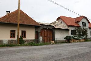 Babiná, Dolná ulica.