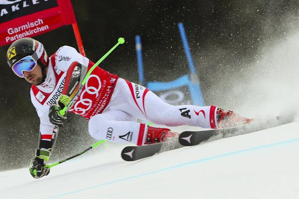 Marcel Hirscher zvíťazil v obrovskom slalome v Ga-Pa.