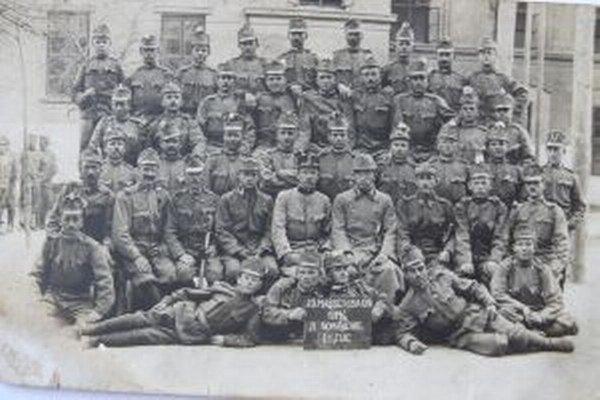 Vojaci 25. pešieho pluku pochádzali najmä zo stredného Slovenska.