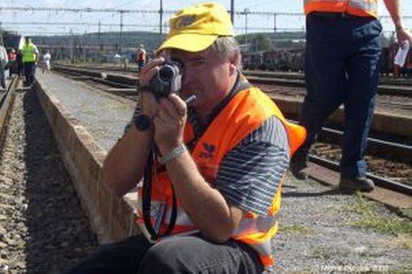 S kamerou na pretekoch parných rušňov vo Zvolene.