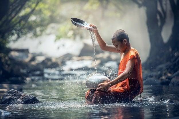 Budhizmus je každodennou súčasťou života v Thajsku.