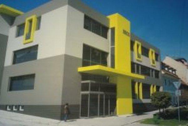 Vizualizácia budovy po rekonštrukcii.