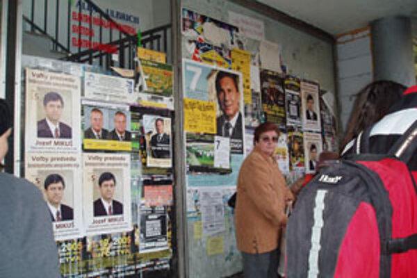Takto to vyzeralo vo Zvolene pred voľbami do vyšších územných celkov.