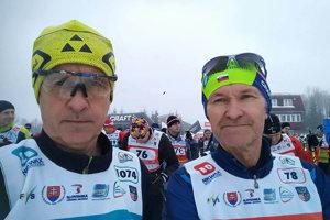Zľava Ladislav Illéš a Justín Illéš.