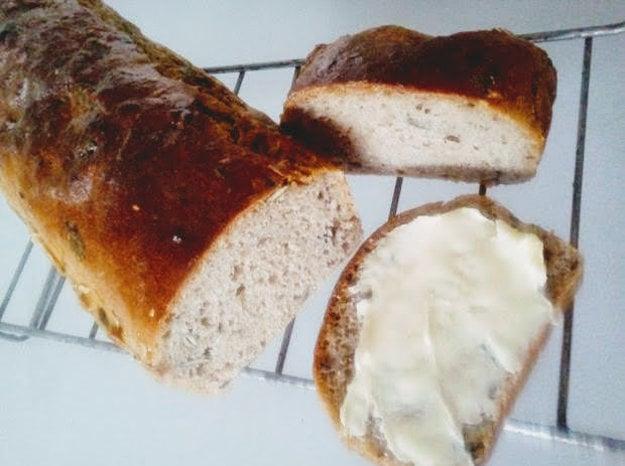 Kváskový chlieb bez miesenia