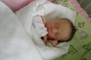 Alesia Daria (2180 g, 43 cm) sa narodila 19. januára Olinke Simonke a Ioanovi z Nového Mesta nad Váhom.