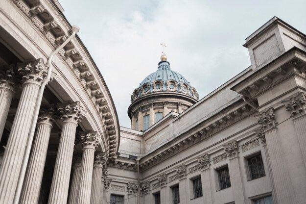 Kazanská katedrála, Petrohrad