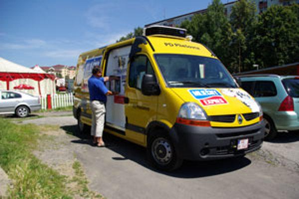 Mlieko z pojazdného automatu Zvolenčanom zachutilo.