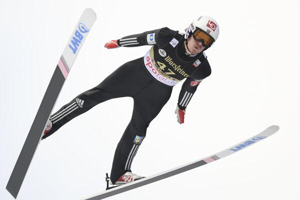 Daniel-Andre Tande ukázal pred olympiádou nárast formy.