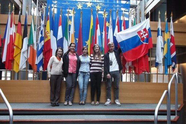 Študenti si užili pobyt v Štrasburgu a Európskom parlamente