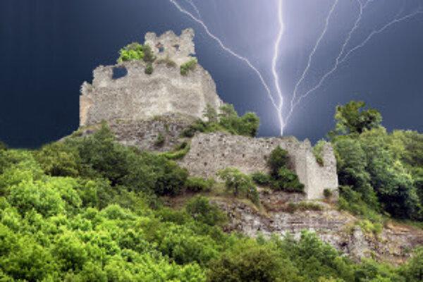 Čabraďský hrad.