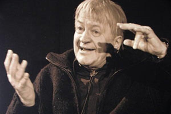 Herec Ivan Palúch na fotografii Jána Miškoviča.