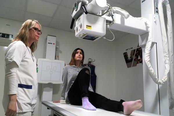 Nemocnica investovala 130-tisíc do kúpy nového röntgenového prístroja.