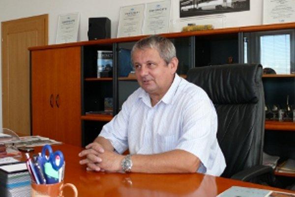 Generálny riaditeľ Železničných opravovní a strojární Zvolen Miroslav Dzurinda.