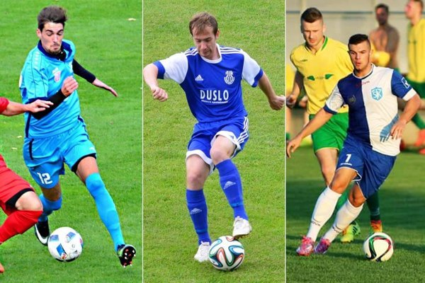 Novými hráčmi Galanty by sa mali stať (zľava) Šimon Herceg, Marek Tomiš a Attila Pinte.