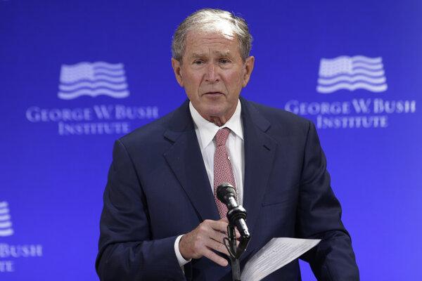 Bývalý americký prezident George W. Bush.