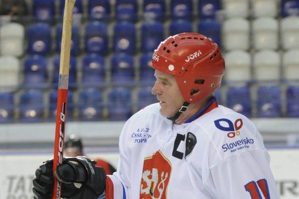 Medailista zo ZOH. Igor Liba úspešne hrával ešte za československú reprezentáciu.