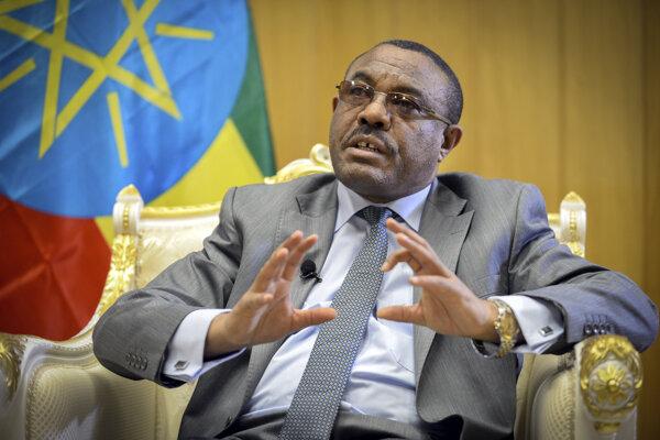 Etiópsky premiér Hailemariam Desalegn.