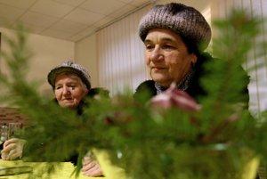 Jozefína Janovcová a Margita Čillíková si na Vianoce detstva dodnes spomínajú.