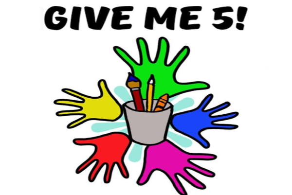 Výtvarná súťaž Give me 5! je tiež o spájaní síl rómskych a nerómskych detí.