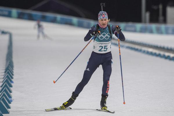 Anastasia Kuzminová môže v sobotu pridať ďalšiu medailu v pretekoch s hromadným štartom.