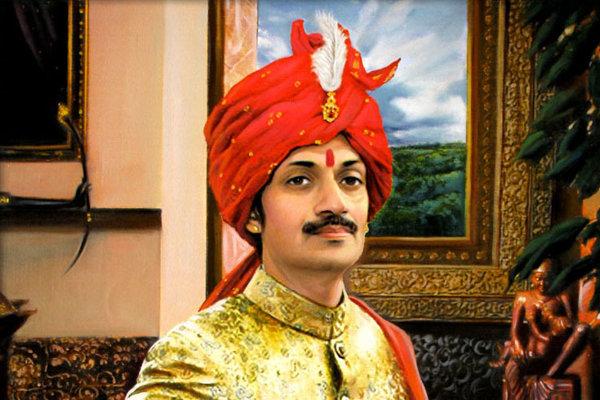 Indický princ Manvéndra Singh Góhil.