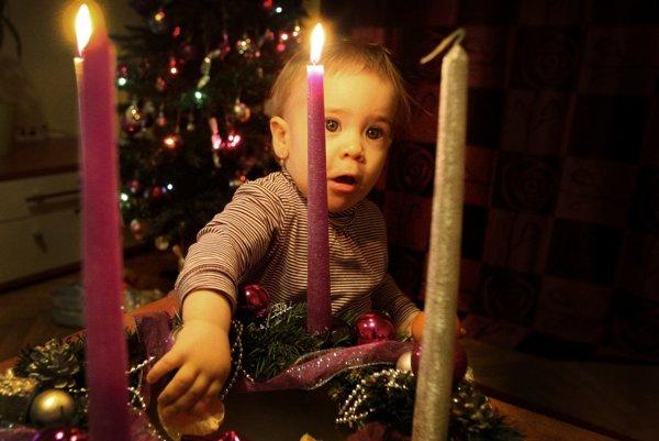 Symbolom Vianoc je aj vianočný stromček.