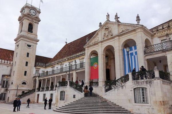 Univerzita v portugalskom Coimbre je najstaršou univerzitou v Portugalsku, je zapísaná aj v UNESCO.