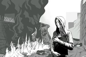 Najobľúbenejšia. Kresbu ku skladbe Čierna skrinka má Nora najradšej.