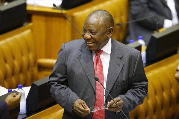 Nový juhoafrický prezident Cyril Ramaphosa.