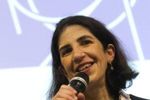 Nová generálna riaditeľka CERN-u Fabiola Gianottiová.