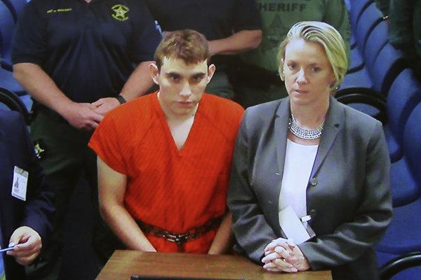 Nikolas Cruz pred súdom.